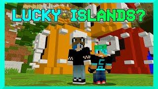 MINECRAFT | LUCKY BLOCKS | LUCKY ISLANDS | GAMER CHAD | CUBE CRAFT SERVER