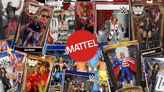 How Many Different WWE Superstars Have Mattel Made Figures Of??? Part 5