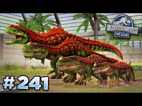 Creating The Strongest Hybrid!    Jurassic World - The Game - Ep241 HD