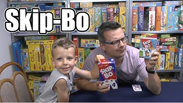 Skip-Bo (Mattel) - ab 7 Jahre - Ein Kartenspiel welches man kennen muss?