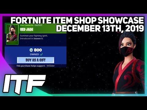 Fortnite Item Shop RED JADE IS BACK! [December 13th, 2019] (Fortnite Battle Royale)