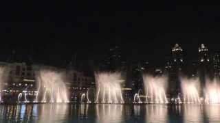 Dubai Downtown Burj Kahlifa Fountain Show 2013 HD