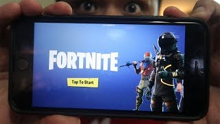 How to Play Fortnite on the Phone (Mobile Fortnite Gameplay)