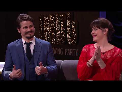 Jason Ritter and Melanie Lynskey Love 'Moonlight' | IMDb EXCLUSIVE