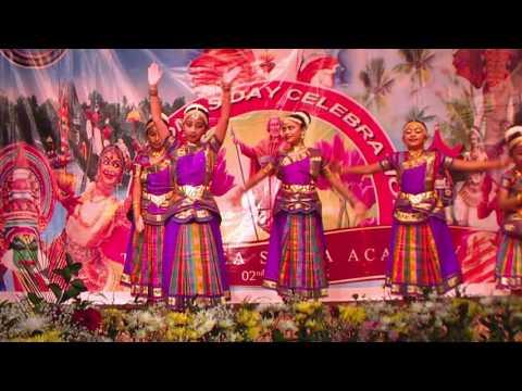 Christian Semi Classical Group Dance And Kolkali