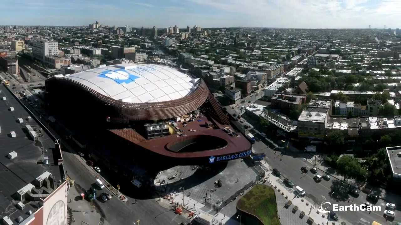 Official barclays center time lapse youtube for The barclay