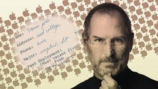 Đơn xin việc của ông Steve Jobs bán được gần 175,000 đô la