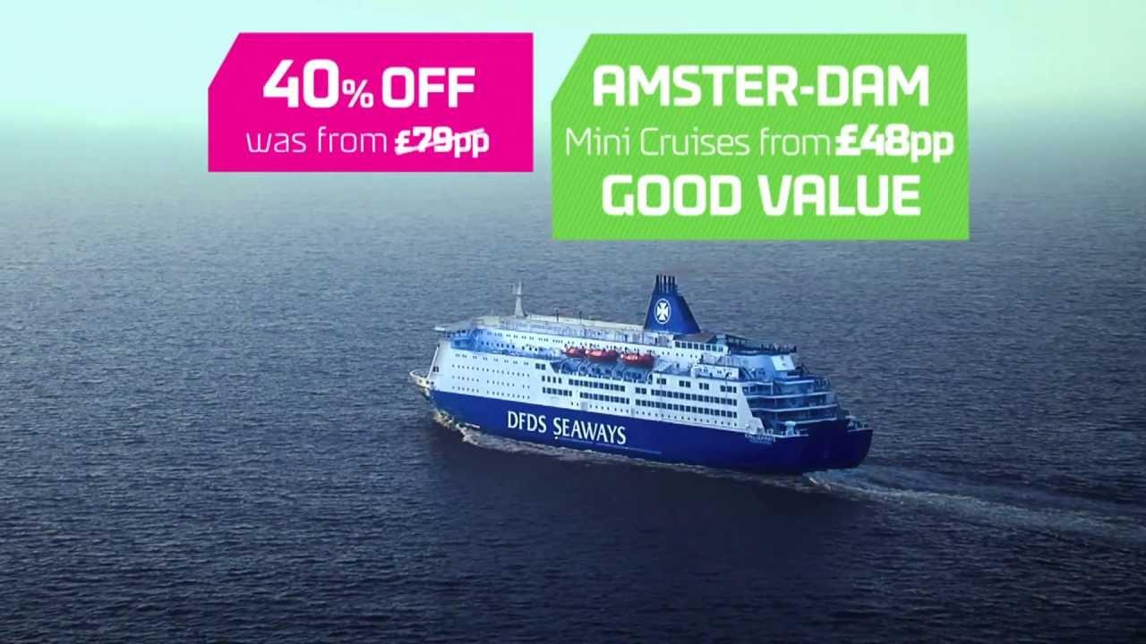 DFDS Seaways Mini Cruise to Amsterdam with Ron & Julia