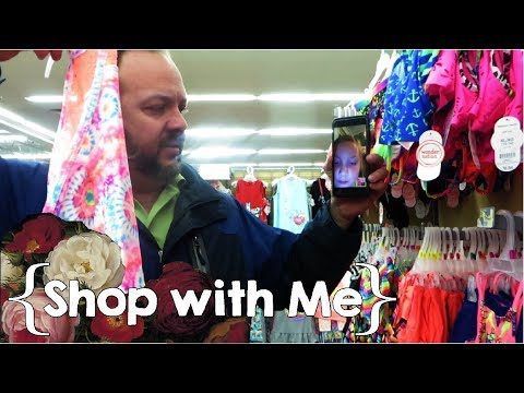 Spring & Summer Clothes Shopping... with No Baby ║ Large Family Shop with Me │ April 2018