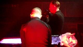 Hurts - Stay / Lucerna Music Bar 28. 3. 2013 /