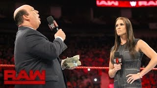 Download Paul Heyman addresses Brock Lesnar's actions at SummerSlam: Raw, Aug. 29, 2016