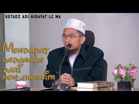 Mendapat Undangan Dari Non Muslim, Bolehkah Kita Menghadirinya?
