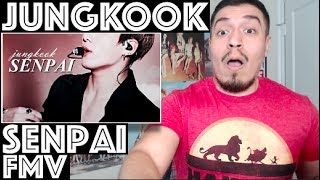 Video BTS JUNGKOOK Senpai FMV Reaction download MP3, 3GP, MP4, WEBM, AVI, FLV Juni 2018