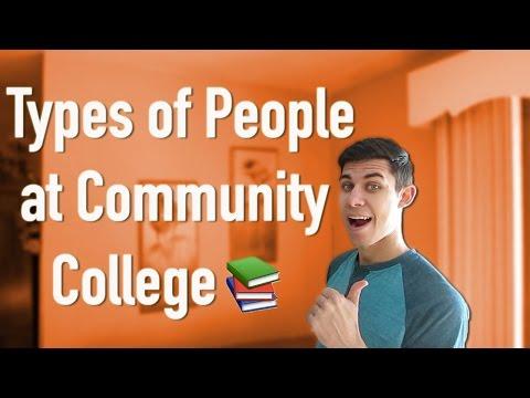 TYPES OF PEOPLE AT COMMUNITY COLLEGE | Derek Doeing
