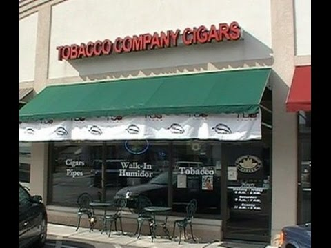 Inside The Tobacco Co. In Lemoyne Pa My #1 Cigar Lounge