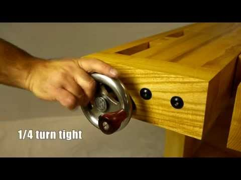 Kitting Out Your Workbench: Benchcrafted's Drool-Worthy Vise Hardware