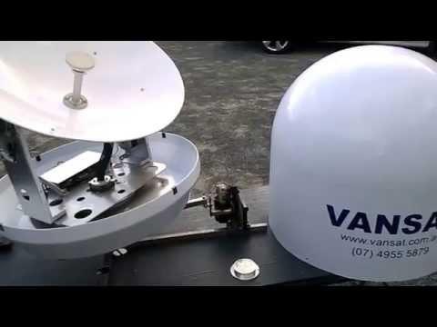 VANSAT SeaTV Marine Satellite TV System - www.vansat.com.au