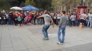 Чеченцы и Грузины танцуют лезгинку в Грузий / ჩეჩნები და ქართველები ცეკვავენ ერთად ლეზგინკას