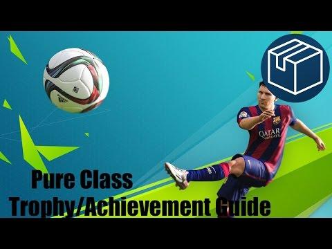 FIFA 17 Pure Class Trophy/Achievement Guide