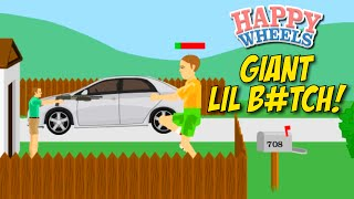 WHAT THIS B#TCH BEEN EATIN'!? [HAPPY WHEELS] [MADNESS!]