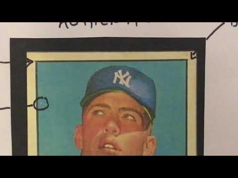 Identifying Fake 1952 Topps Mickey Mantle Cards Disregard Comments On Fake Backs