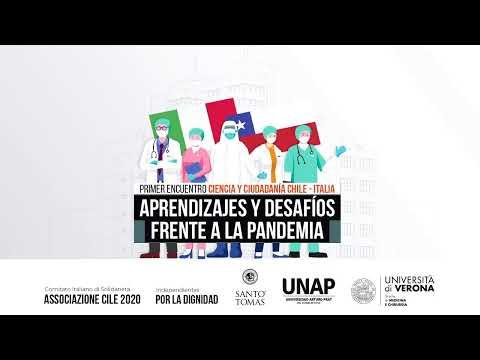 CIENCIA Y CIUDADANÍA CHILE - ITALIA:  APRENDIZAJES Y DESAFÍOS FRENTE A LA PANDEMIA