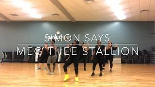 Simon Says | Meg Thee Stallion Ft. Juicy J | QBChoreography