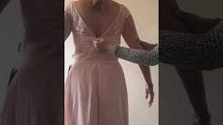 JJS HOUSE Dress Review pearl pink bridesmaid dresses