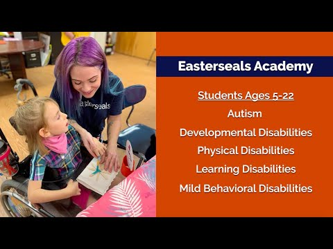 Enroll Your Child at Easterseals Academy