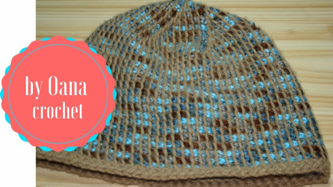 Crochet Hat In The Round