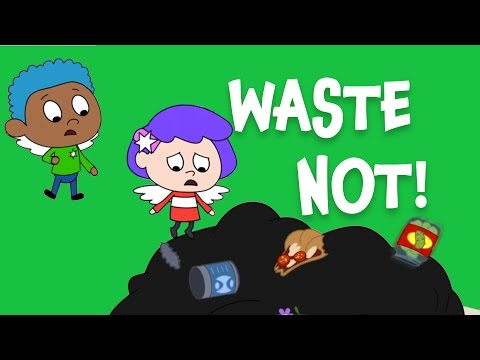Waste Not! An everyday Jewish idea for kids (Bal Taschit) | Shaboom!