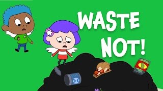 Waste Not! An everyday Jewish idea for kids (Bal Taschit) | Shaboom!