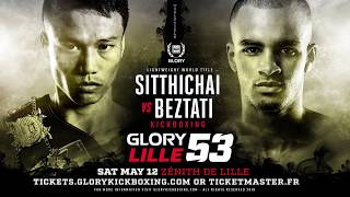 GLORY 53: Full Fight Card Preview
