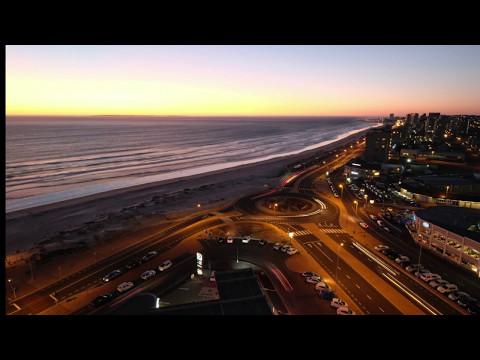 Evening Lights of Blouberg Beach