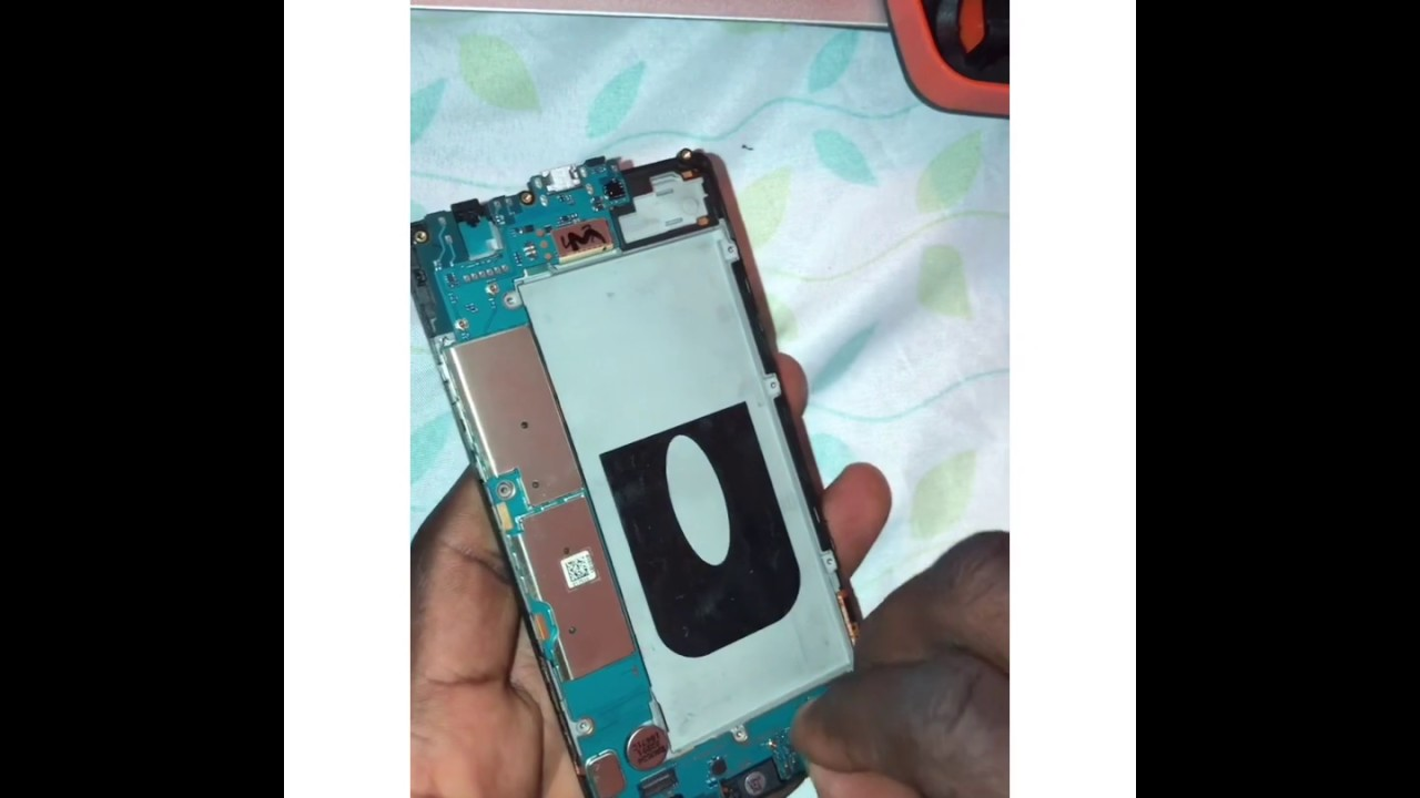 How to safely remove a non removable battery from a LG ...
