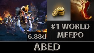 Abed Meepo Fast Farm ► The Best Meepo World ► Dota 2 [6.88d]