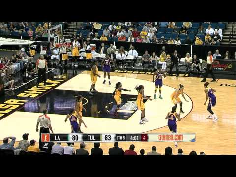Game Recap: Los Angeles Sparks vs. Tulsa Shock