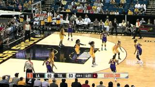 Game Recap: Los Angeles Sparks vs. Tulsa Shock