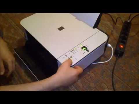 Как заправить принтер canon mp250