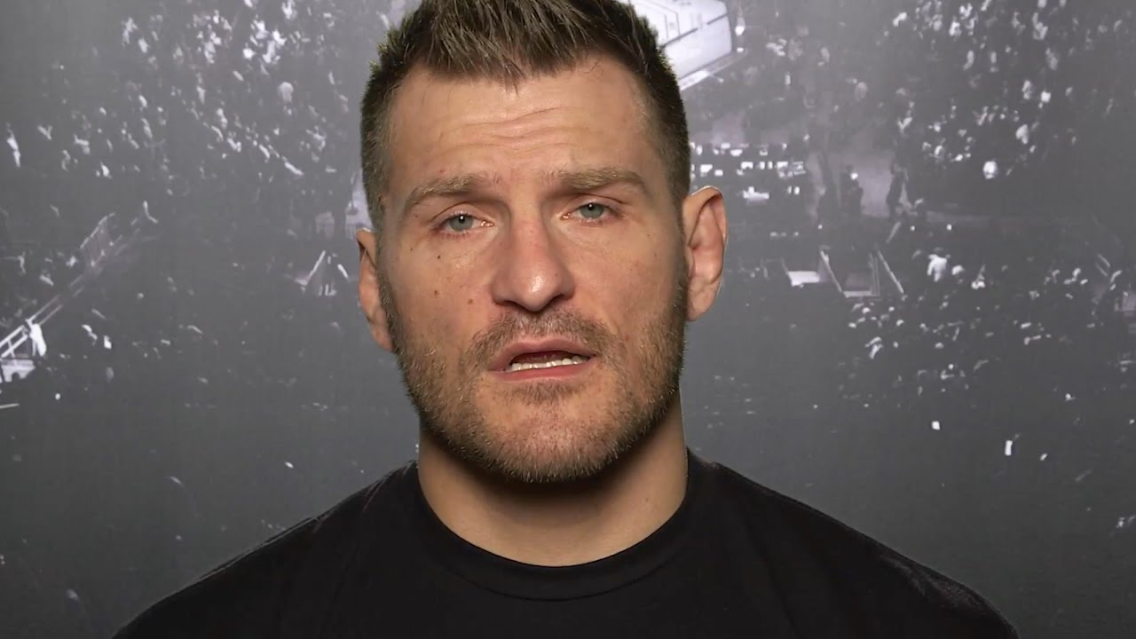 Ufc 211 Stipe Miocic I Like Being Called Champ Youtube
