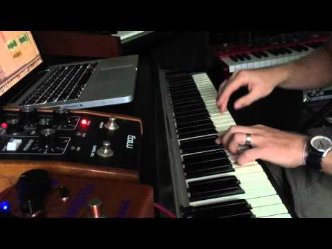 Fender Rhodes Mark 1 funk solo