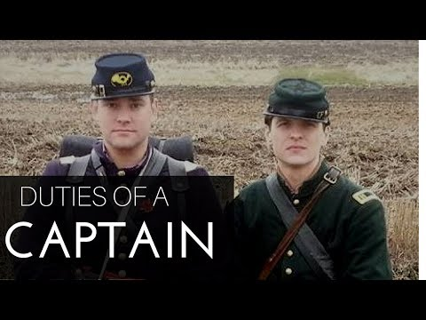 Duties of a Captain