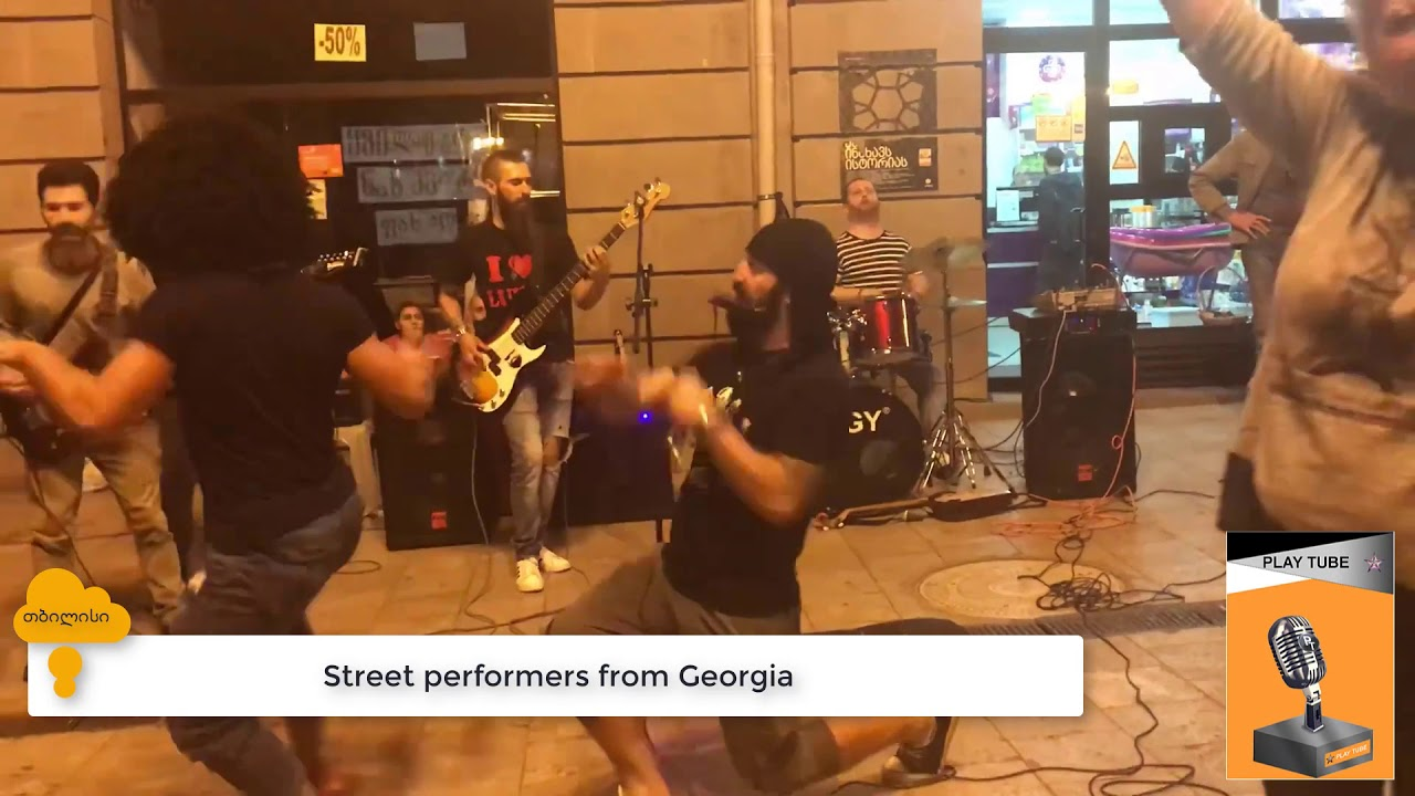 Street performers from Georgia