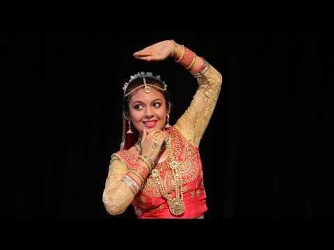 Mere Dholna Sun - Original Kathak Dance by Mixed White-Indian Girl - Houston Albright