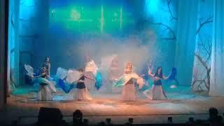 """Танец с веелами """" Дыхание моря"""" студия восточного танца MARY"""