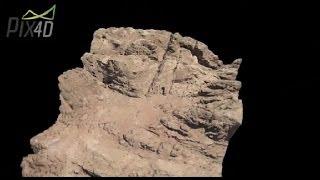 Pix4D - Archaeologic discovery at Petra, Jordania