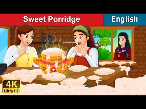 Sweet Porridge Story | Stories for Teenagers | English Fairy Tales