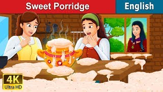 Sweet Porridge Story | Story | English Fairy Tales