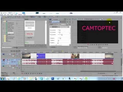 How to edit video on Sony Vegas Pro | របៀបកាត់តវីដអូតាមកម្មវិធី Sony Vegas Pro