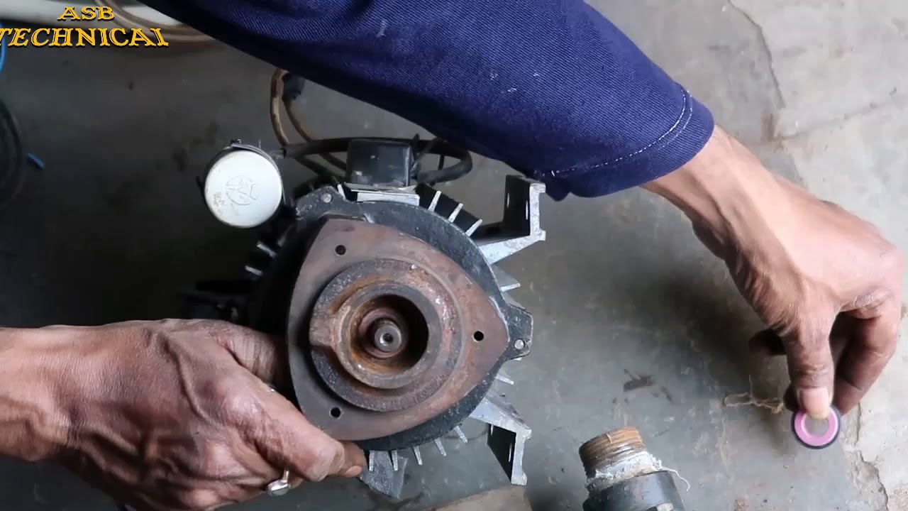 Domestic Water Pump Repair: Bearing and Water Seal Replace  Part- 2